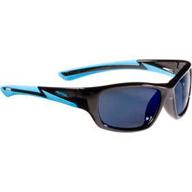 Alpina Flexxy Youth Occhiali Bambino, black-cyan